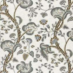Marlena Fabrics | Marlena - Charcoal | Curtain fabrics | Designers Guild