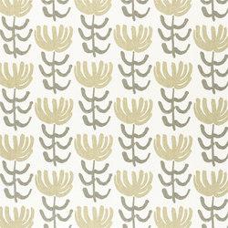 Marlena Fabrics | Pierrette - Greige | Curtain fabrics | Designers Guild