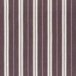 Marlena Fabrics | Burgee - Damson | Tejidos para cortinas | Designers Guild