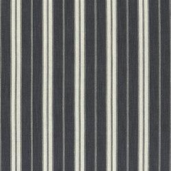 Marlena Fabrics | Burgee - Coal | Vorhangstoffe | Designers Guild