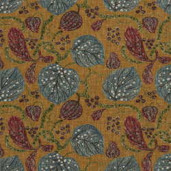Monsoreto Fabrics | Astasia - Ochre | Curtain fabrics | Designers Guild