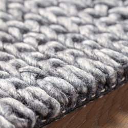 Athmos Braided dark grey | Rugs | Amini