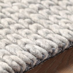 Athmos Braided silver | Rugs / Designer rugs | Amini