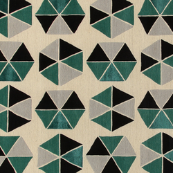GIO PONTI Esagoni green | Rugs / Designer rugs | Amini