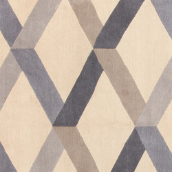 GIO PONTI Incroci blue | Rugs | Amini