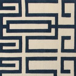 GIO PONTI Labirinto blue | Rugs | Amini