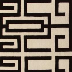 GIO PONTI Labirinto black | Rugs / Designer rugs | Amini