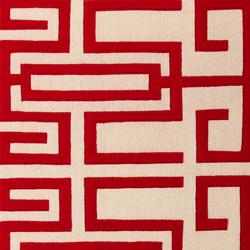 GIO PONTI Labirinto red | Formatteppiche | Amini