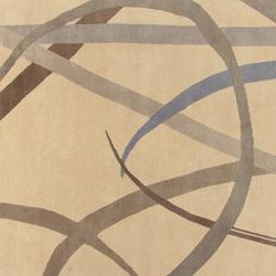 GIO PONTI Lettera Disegnata grey | Rugs / Designer rugs | Amini