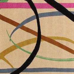 GIO PONTI Lettera Disegnata multi | Tappeti / Tappeti d'autore | Amini