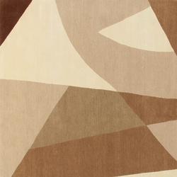 GIO PONTI Riflessi beige | Formatteppiche / Designerteppiche | Amini