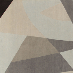 GIO PONTI Riflessi grey | Rugs / Designer rugs | Amini