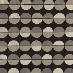 GIO PONTI Sole Luna brown | Rugs | Amini