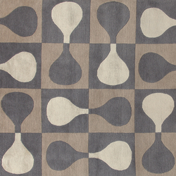 GIO PONTI Sorrento brown | Rugs | Amini
