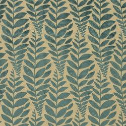 Savio Fabrics | Foglia - Azure | Tissus pour rideaux | Designers Guild