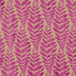 Savio Fabrics | Foglia - Fuchsia | Curtain fabrics | Designers Guild