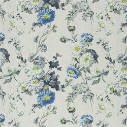 Seraphina Fabrics | Ophelia - Delft | Tessuti tende | Designers Guild