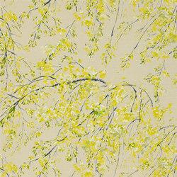 Shanghai Garden Fabrics | Plum Blossom - Acacia | Curtain fabrics | Designers Guild
