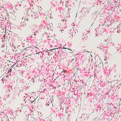 Shanghai Garden Fabrics | Plum Blossom - Peony | Tessuti tende | Designers Guild
