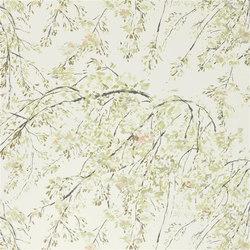 Shanghai Garden Fabrics | Plum Blossom - Linen | Curtain fabrics | Designers Guild