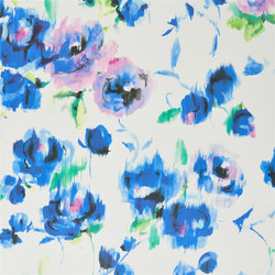 Shanghai Garden Fabrics | Rose Pavilion - Cobalt | Curtain fabrics | Designers Guild