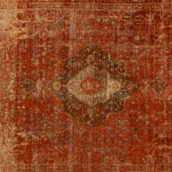 Revive orange-copper | Tapis / Tapis design | Amini