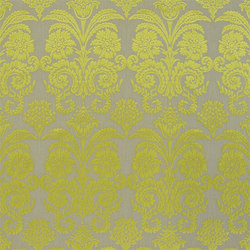 Trasimeno with Despina Fabrics | Ombrione - Lemongrass | Tissus pour rideaux | Designers Guild