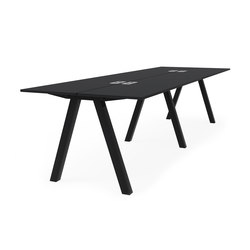 Frankie bench desk high A-leg 90cm | Tables multimédia | Martela