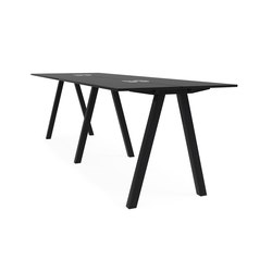 Frankie bench desk high A-leg 110cm | Multimedia-Tische | Martela