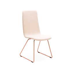 Sola conference chair with sled base high backrest | Visitors chairs / Side chairs | Martela