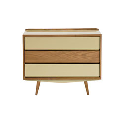 Fifties Chest Of Drawers | Cassettiere | Red Edition