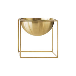 Kubus Bowl Large, brass | Bowls | by Lassen