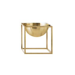 Kubus Bowl Small, brass | Bowls | by Lassen