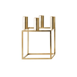 Kubus 4 Brass | Bougeoirs | by Lassen