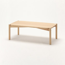 Castor Low Table 100 | Tavolini da salotto | Karimoku New Standard