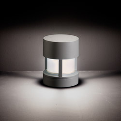 Silvia / Sandblasted Glass - 360° Emission | Outdoor floor lights | Ares