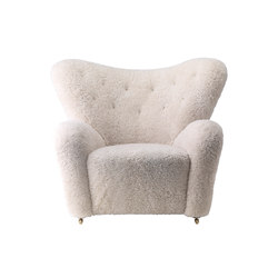 The Tired Man Sheepskin | Armchairs | by Lassen