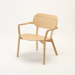 Castor Low Chair | Poltrone lounge | Karimoku New Standard