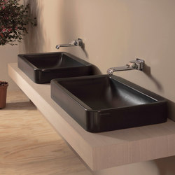 Nile counter-top built-in basin 62 | Wash basins | Ceramica Flaminia