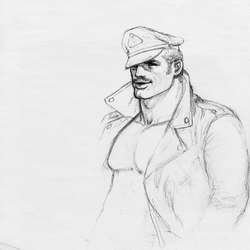 Tom of Finland untitled, 1987 | Tappeti / Tappeti d'autore | Henzel Studio