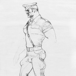 Tom of Finland untitled, 1988 | Tappeti / Tappeti design | Henzel Studio