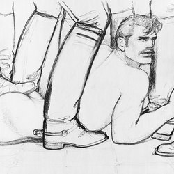 Tom of Finland untitled, 1982 | Rugs | Henzel Studio