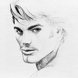 Tom of Finland untitled, 1979 | Tappeti / Tappeti d'autore | Henzel Studio