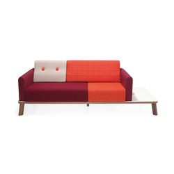 Couture sofa plus sideboard | Sofas | Materia