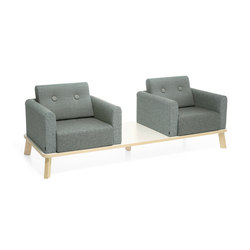 Couture beam sofa | Bancs d'attente | Materia
