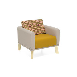 Couture easy chair | Poltrone lounge | Materia