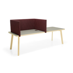 Couture table with screens | Tischpaneele | Materia