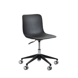 Dragonfly | Chair - 5 star swivel base with castors | Sedie girevoli da lavoro | Segis