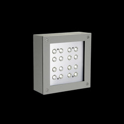 Paola Power LED / Transparent Glass - Symmetric Optic - Narrow Beam 10° | LED wall-mounted lights | Ares