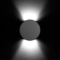 Sigma Power LED / Round Aluminium Frame | Outdoor wall lights | Ares